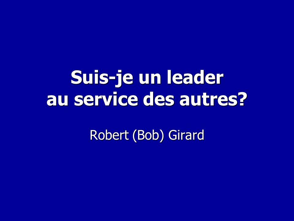 Suis-je un leader au service des autres