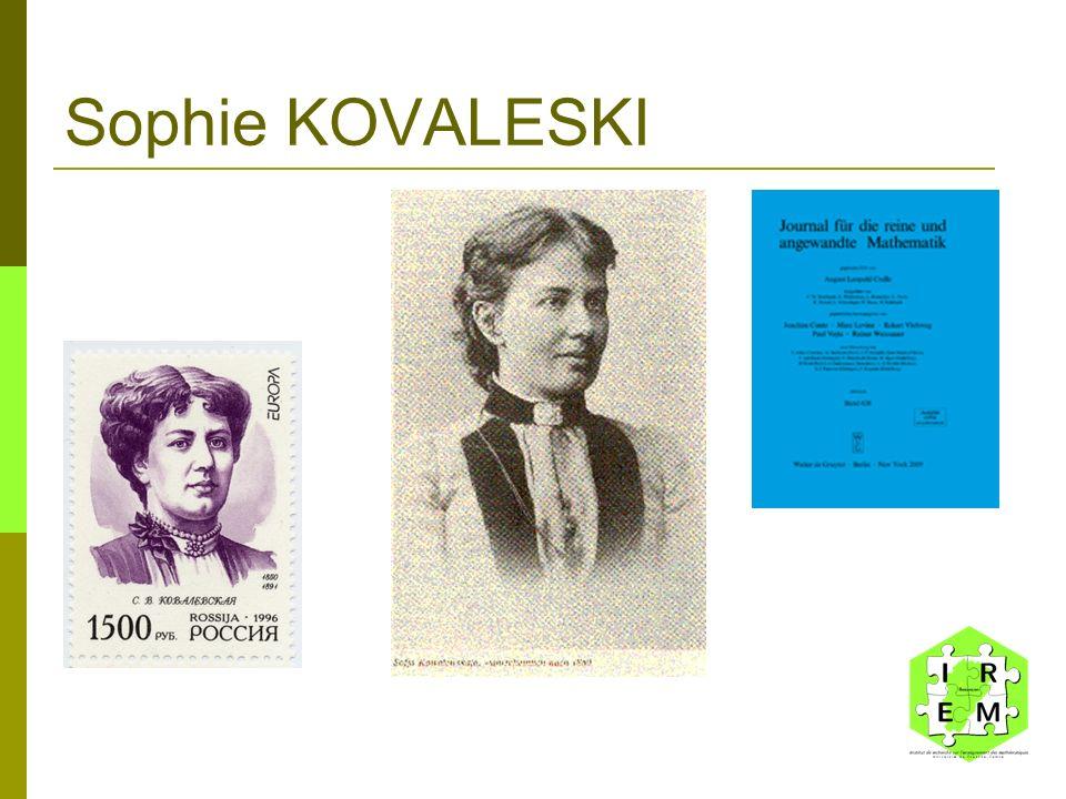 Sophie KOVALESKI