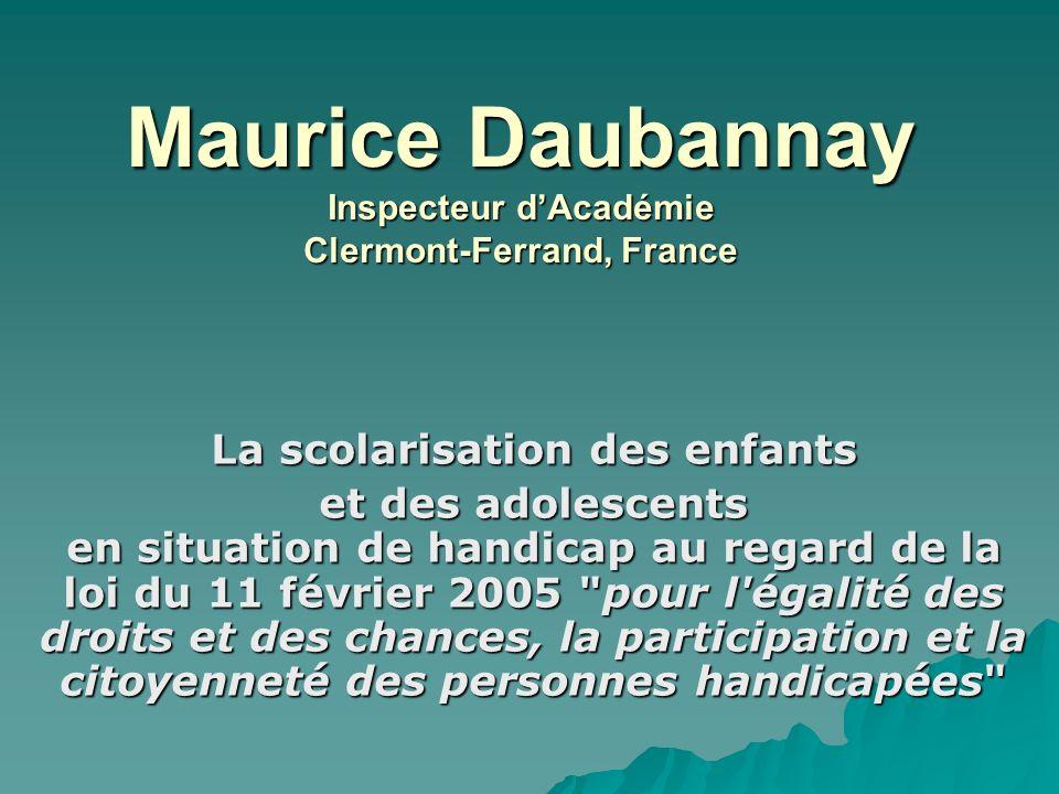 Maurice Daubannay Inspecteur d'Académie Clermont-Ferrand, France
