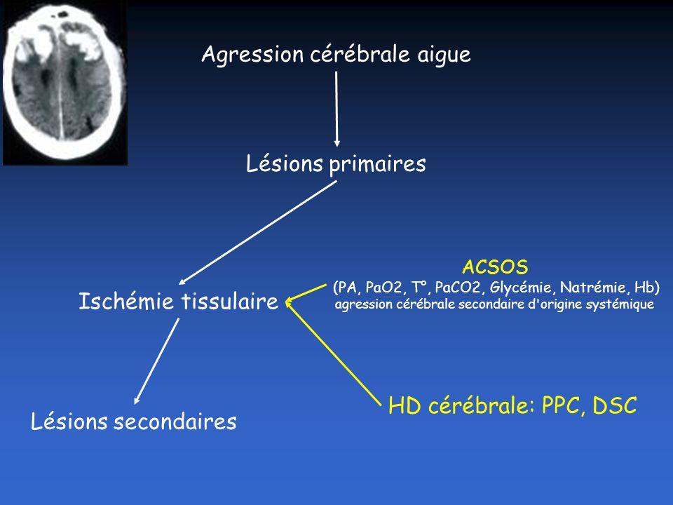 Agression cérébrale aigue