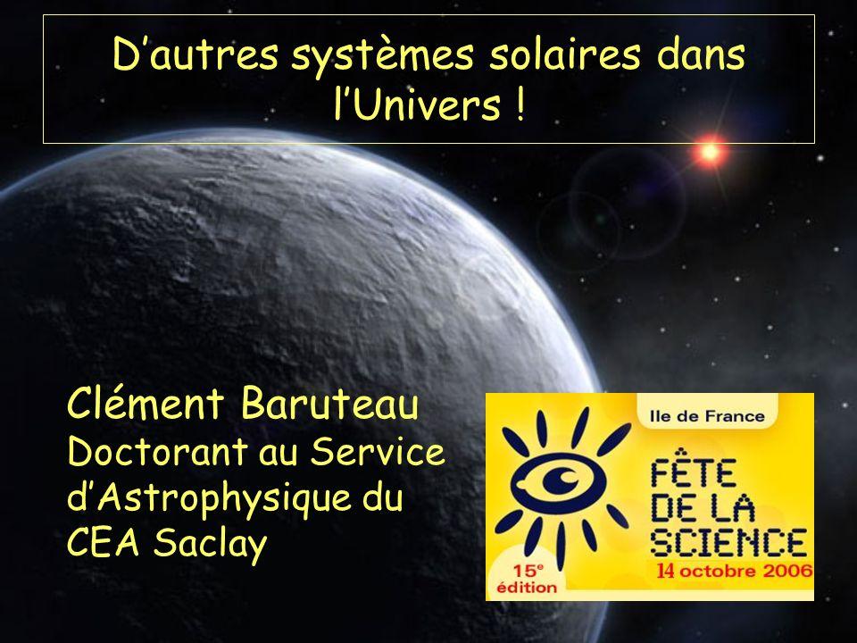 D'autres systèmes solaires dans l'Univers !