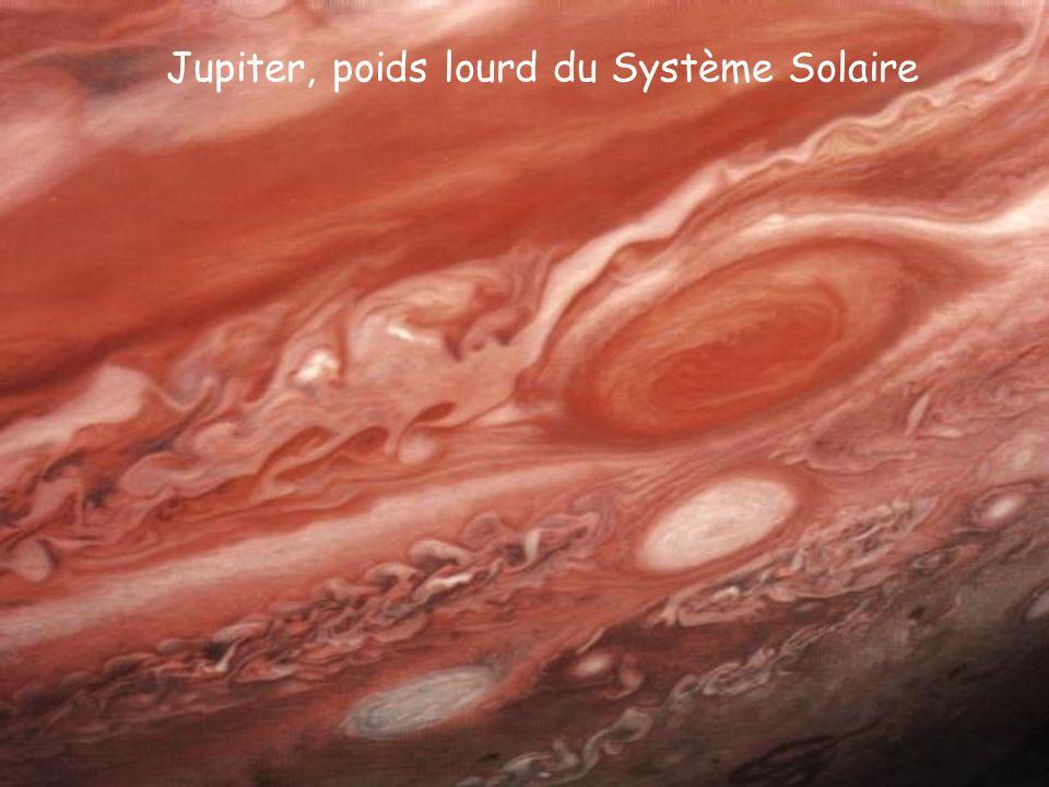 Jupiter, poids lourd du Système Solaire