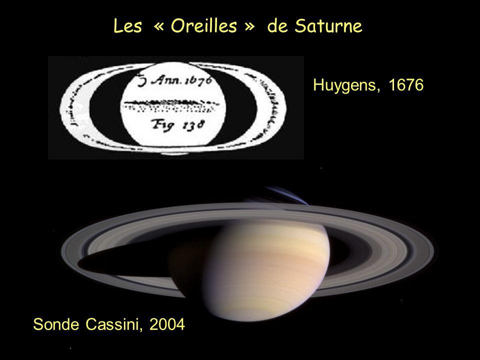 Les « Oreilles » de Saturne