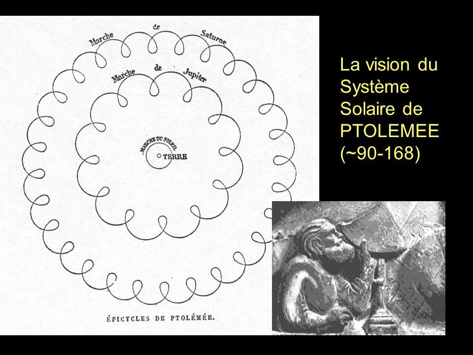 La vision du Système Solaire de PTOLEMEE (~90-168)