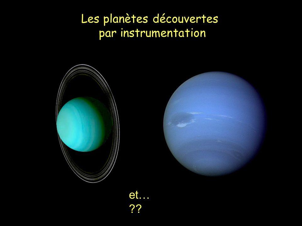 Les planètes découvertes