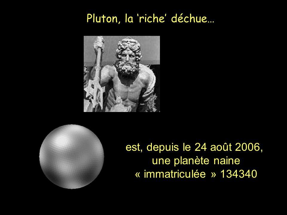 Pluton, la 'riche' déchue…