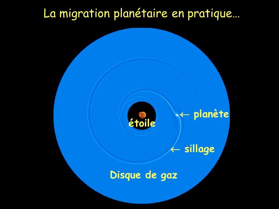 La migration planétaire en pratique…