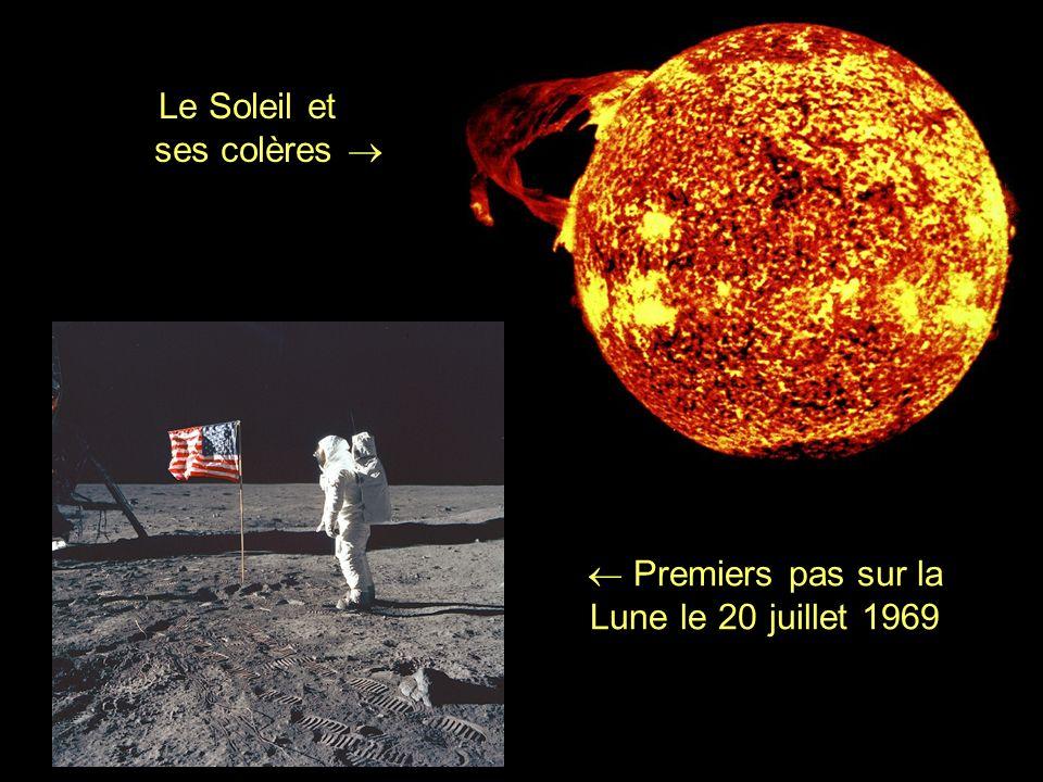  Premiers pas sur la Lune le 20 juillet 1969