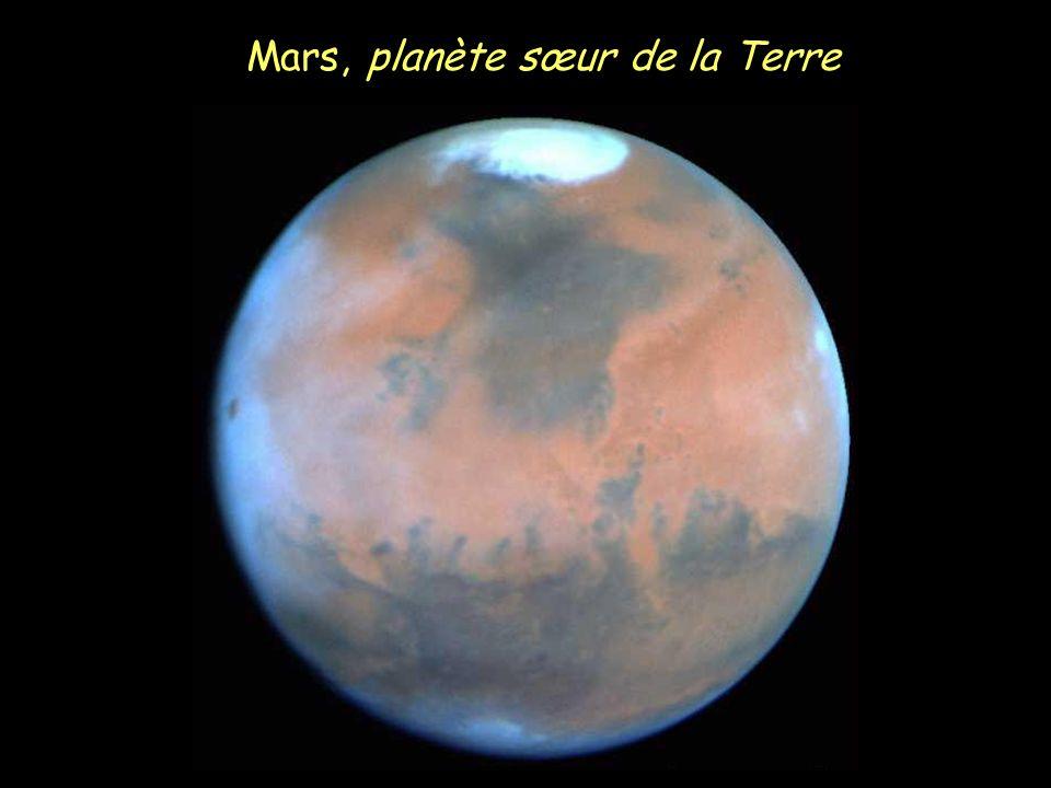 Mars, planète sœur de la Terre