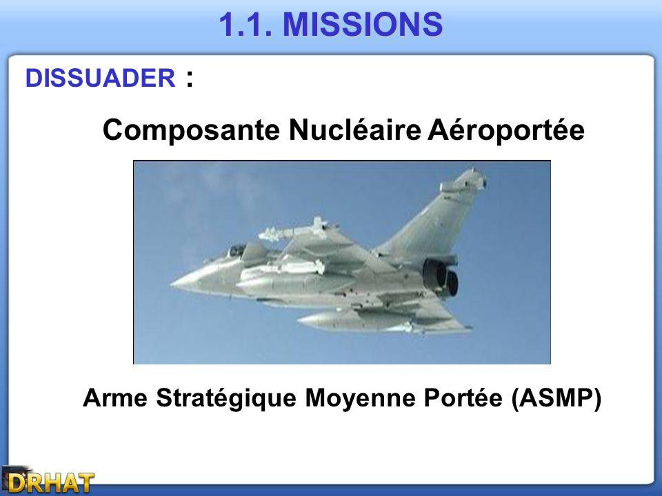 Composante Nucléaire Aéroportée Arme Stratégique Moyenne Portée (ASMP)
