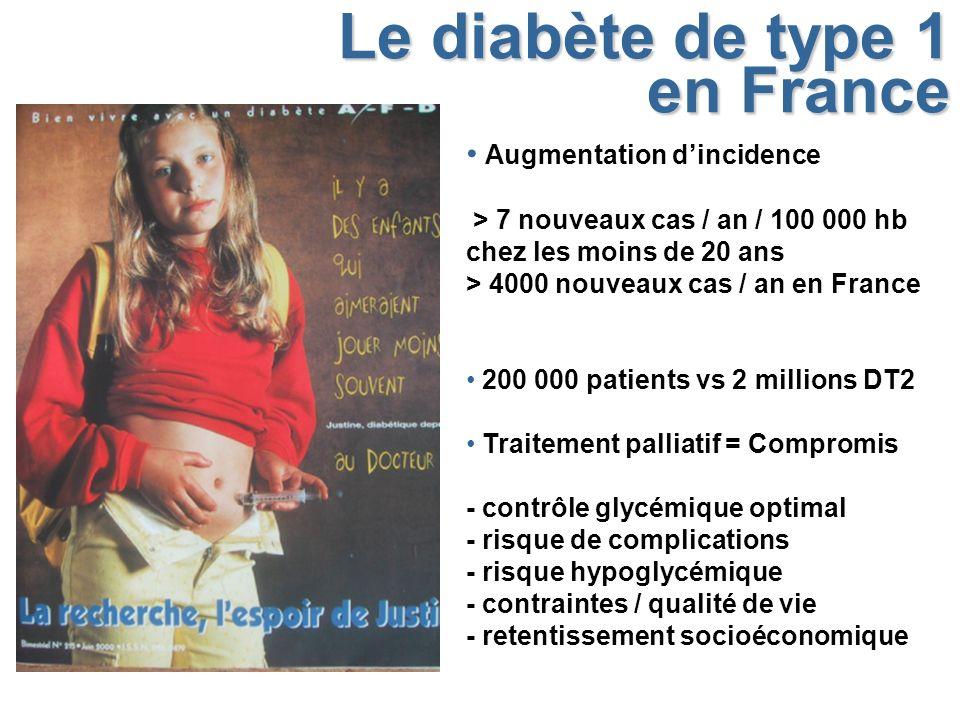 Le diabète de type 1 en France