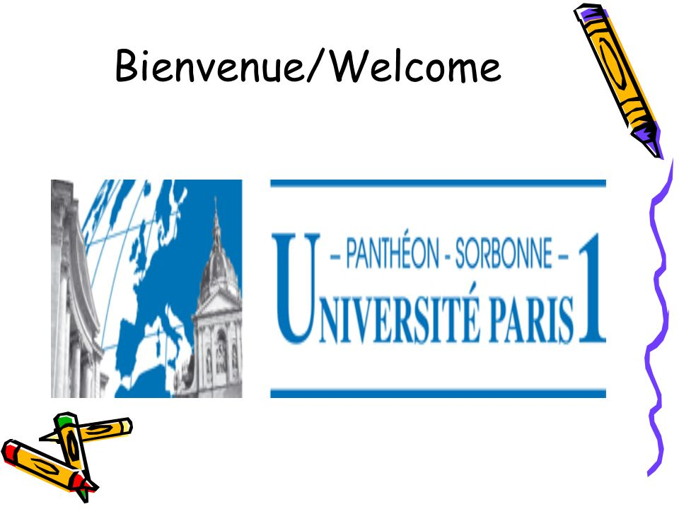 Bienvenue/Welcome