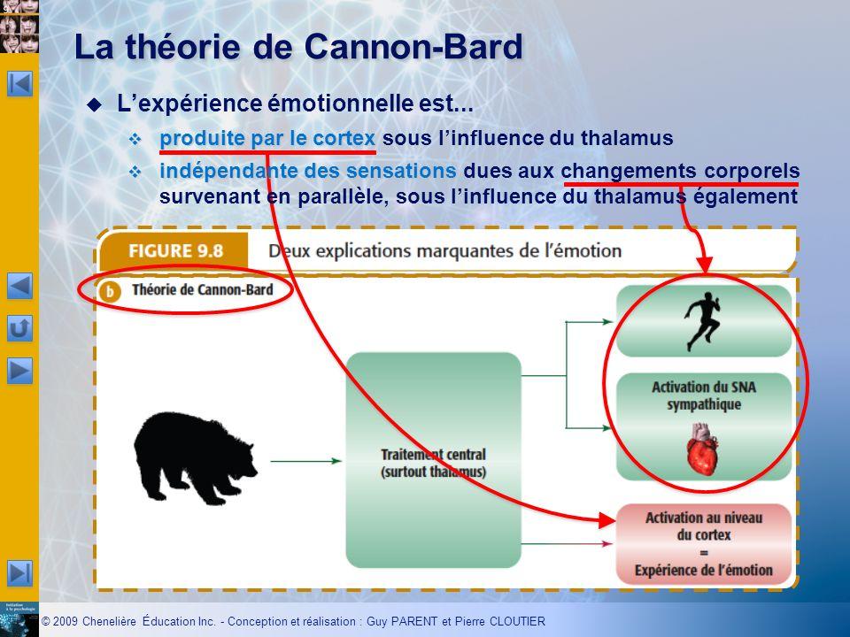 La théorie de Cannon-Bard