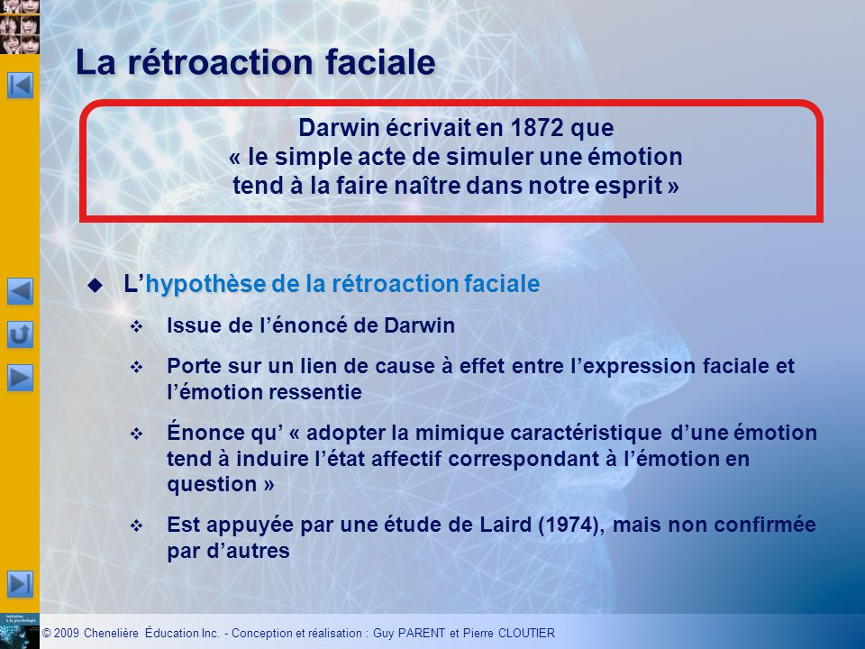 La rétroaction faciale