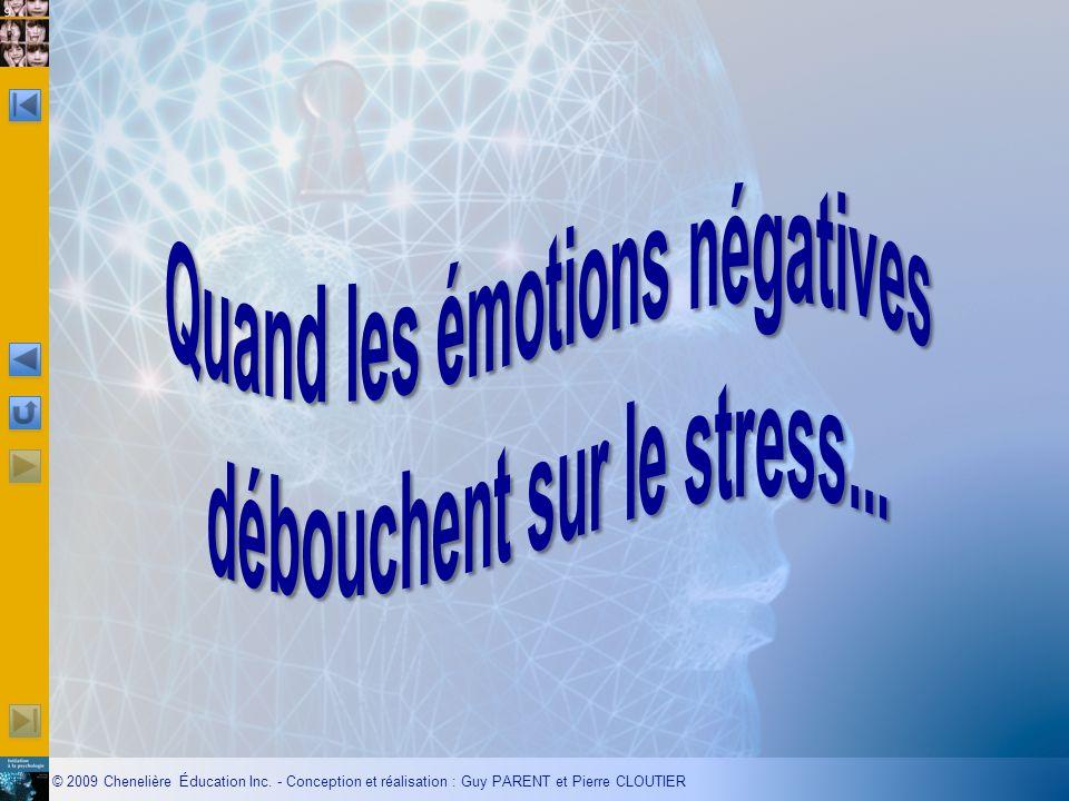 Quand les émotions négatives débouchent sur le stress...