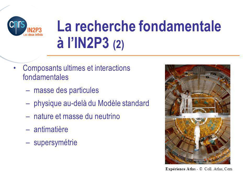La recherche fondamentale à l'IN2P3 (2)