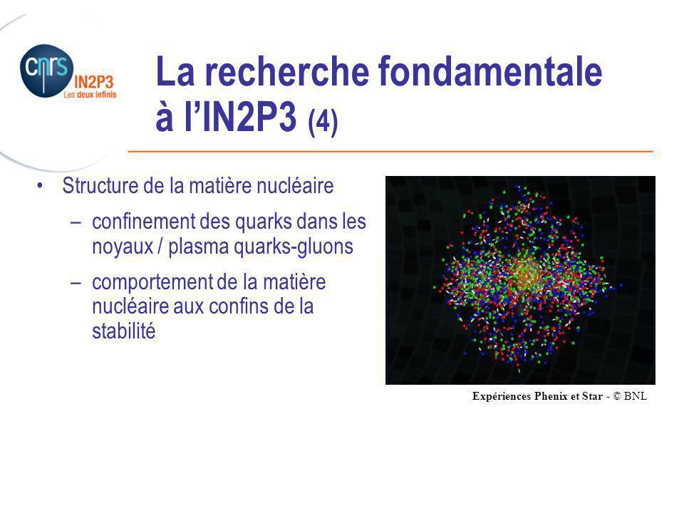 La recherche fondamentale à l'IN2P3 (4)