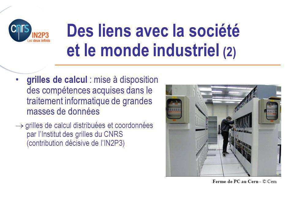 Des liens avec la société et le monde industriel (2)