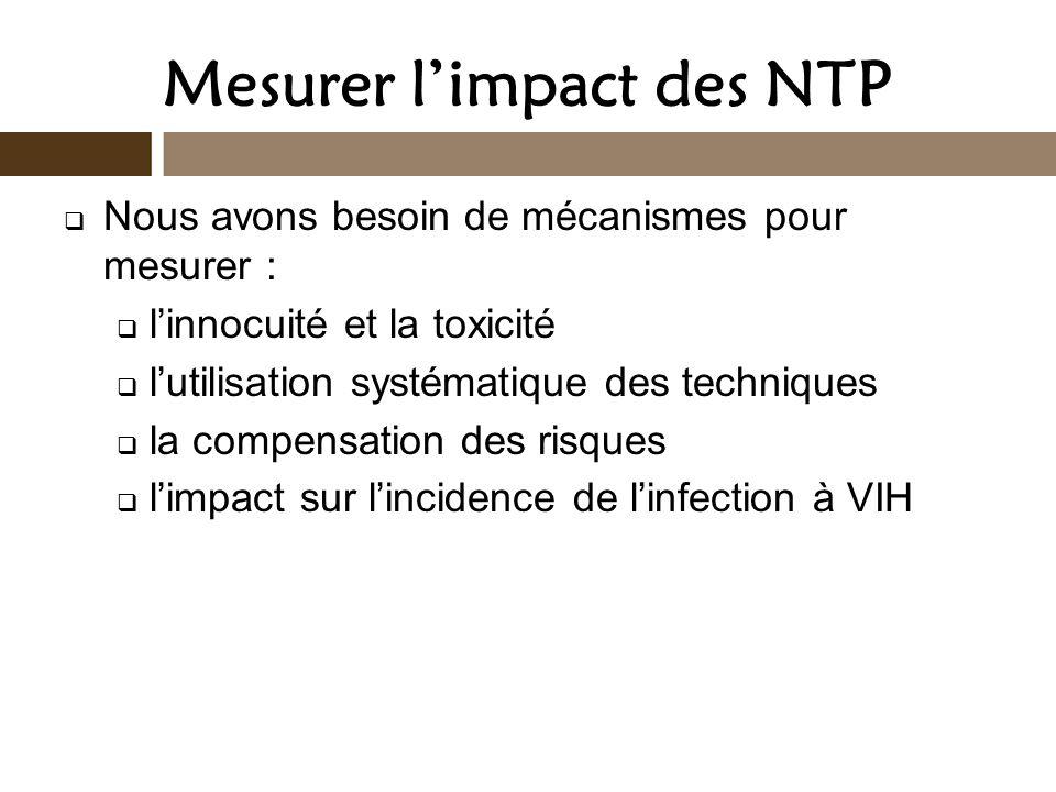Mesurer l'impact des NTP