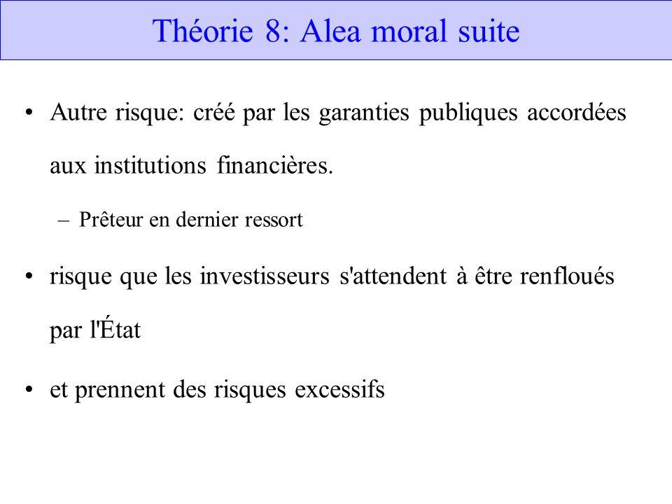 Théorie 8: Alea moral suite