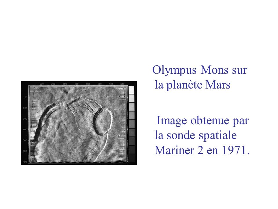 Image obtenue par la sonde spatiale Mariner 2 en 1971.