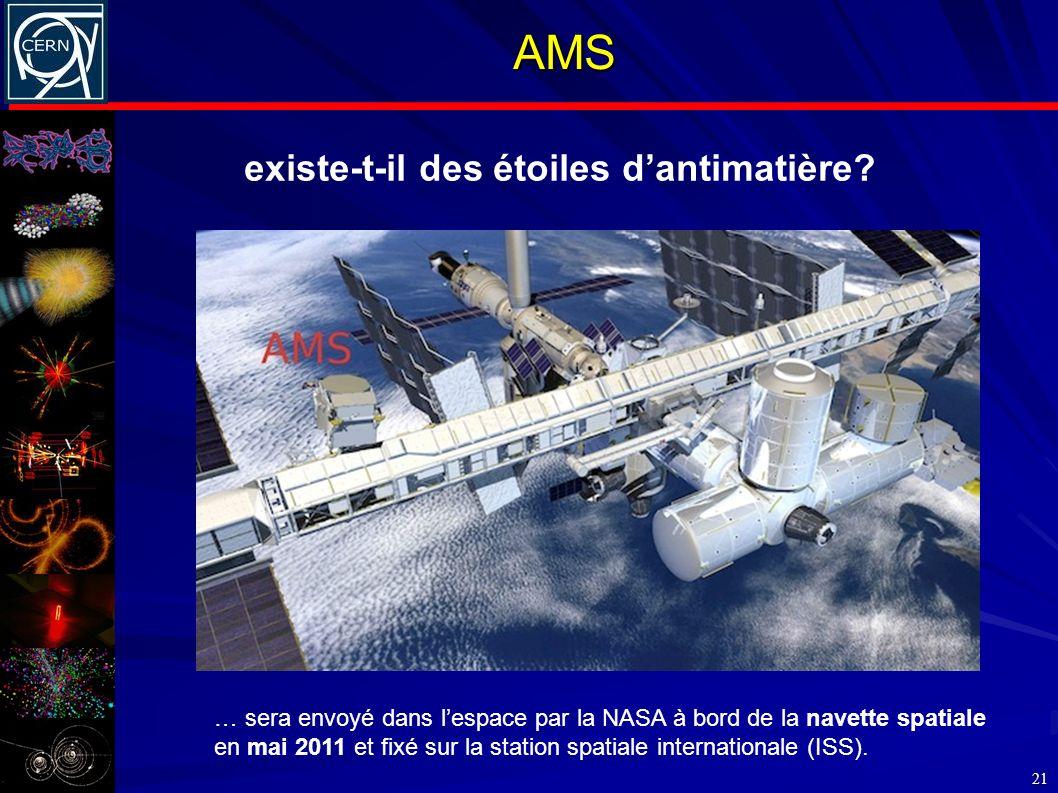 AMS existe-t-il des étoiles d'antimatière