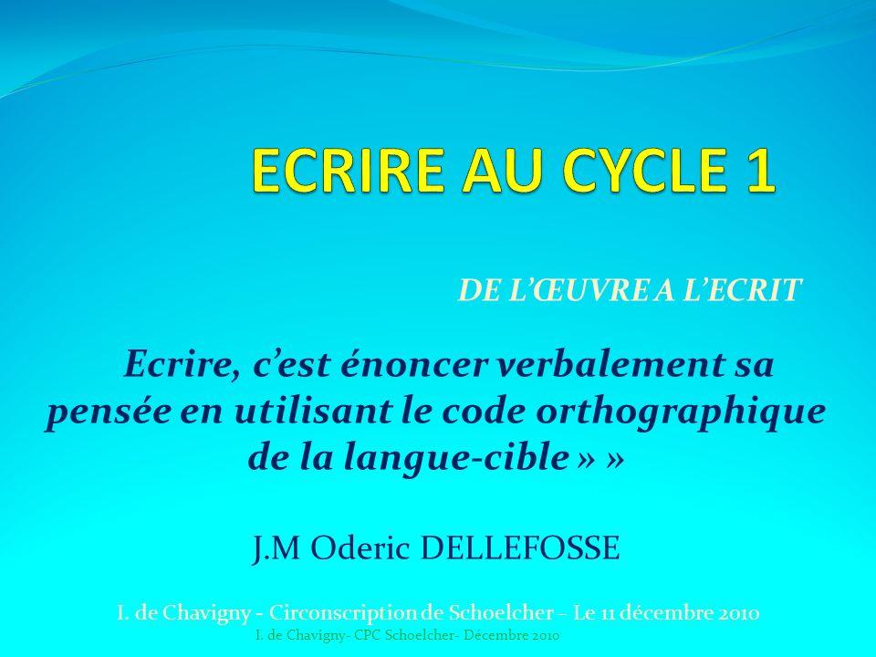 I. de Chavigny - Circonscription de Schoelcher – Le 11 décembre 2010