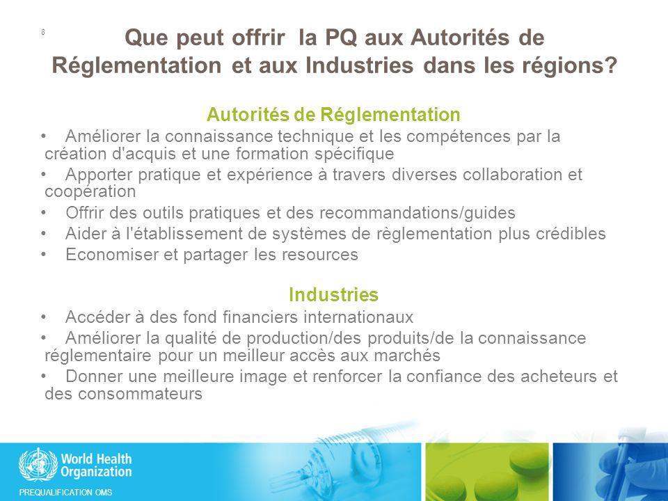Autorités de Réglementation