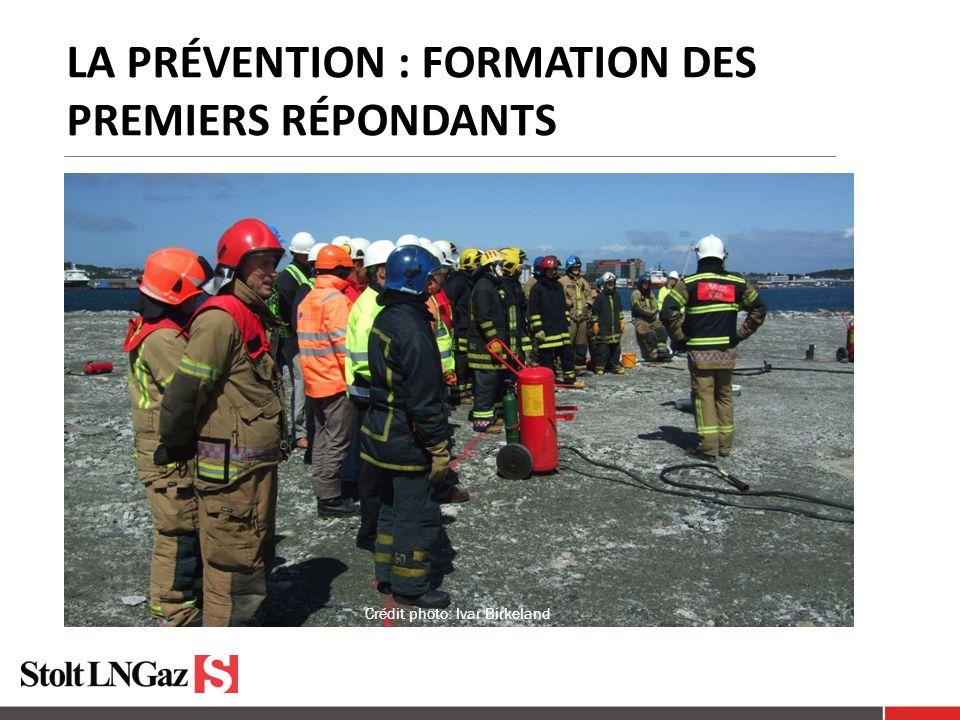 La prévention : formation des premiers répondants