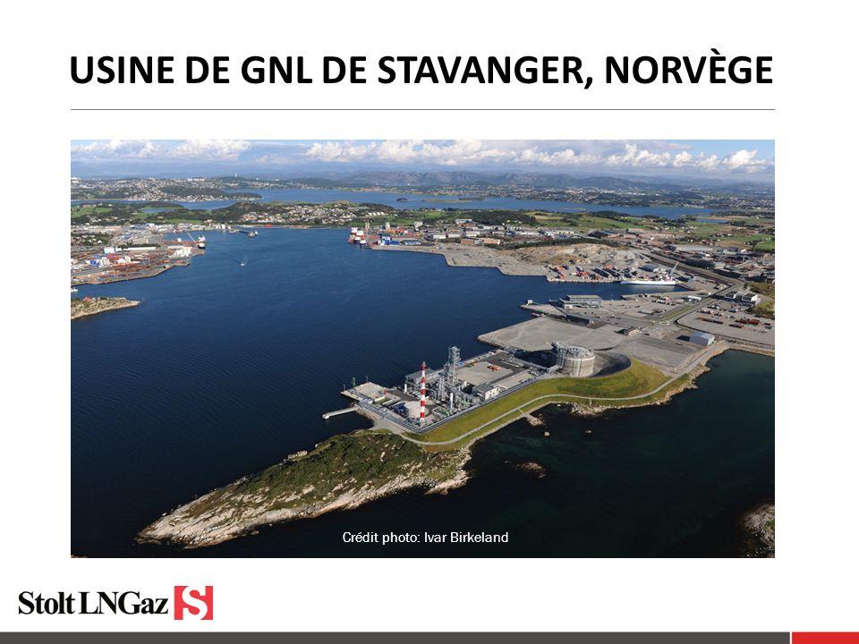 Usine de GNL de Stavanger, Norvège
