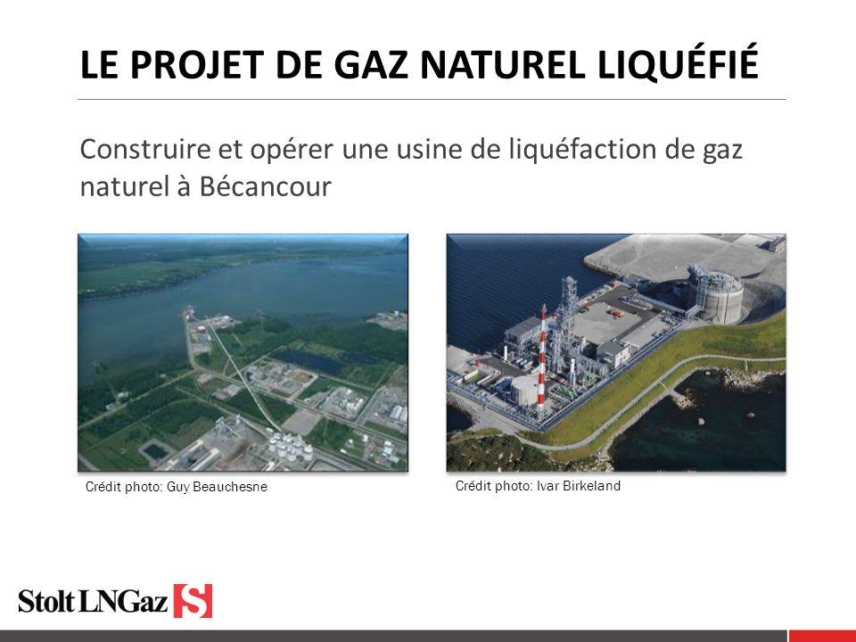 le projet de gaz naturel liquéfié