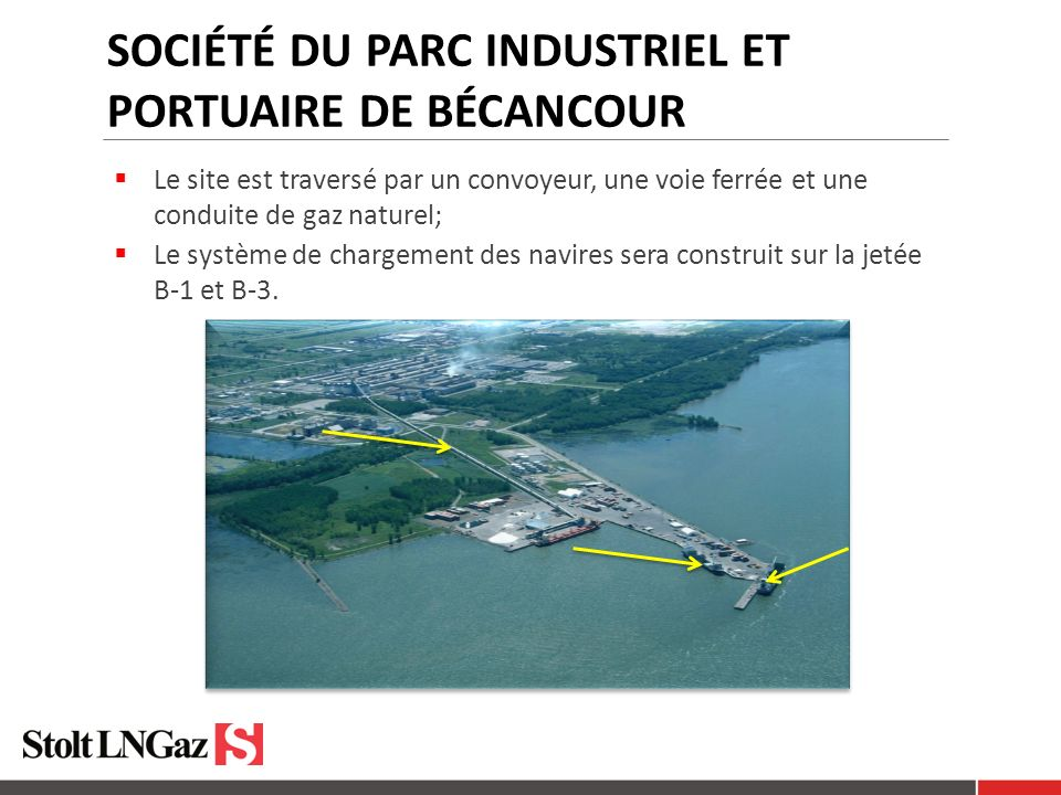 Société du parc industriel et portuaire de Bécancour