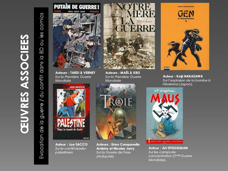 Evocation de la guerre / du conflit dans la BD ou les comics