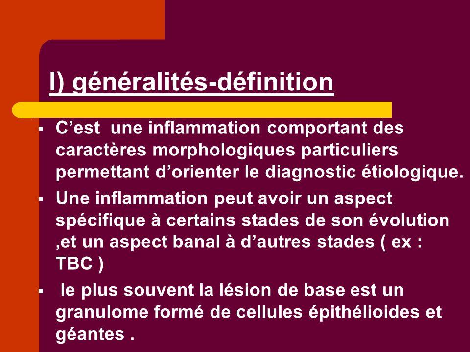 I) généralités-définition