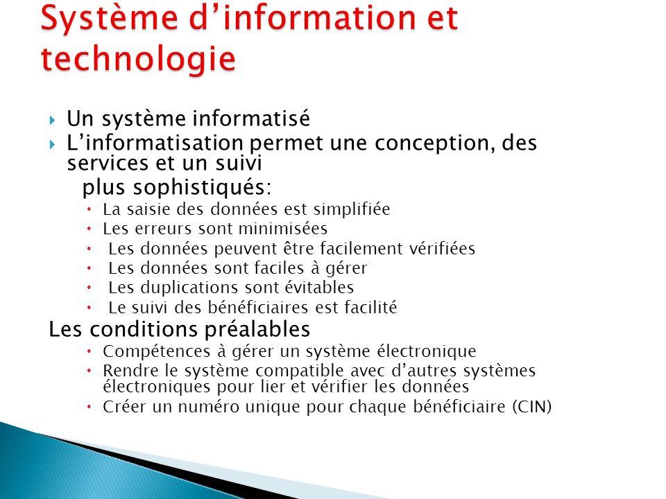 Système d'information et technologie