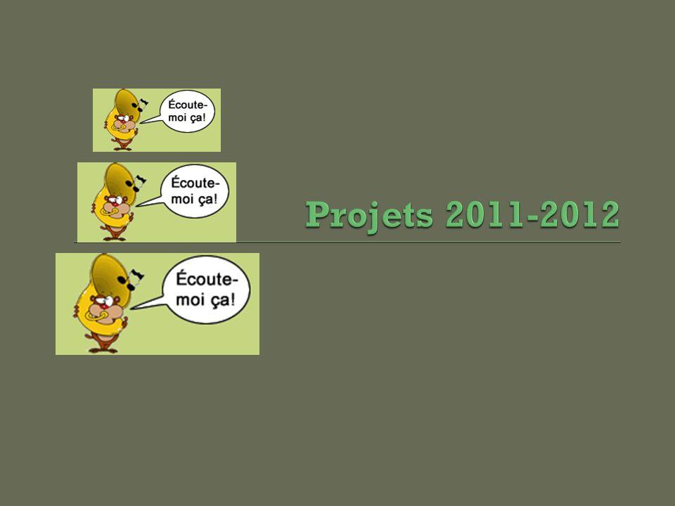 Projets 2011-2012