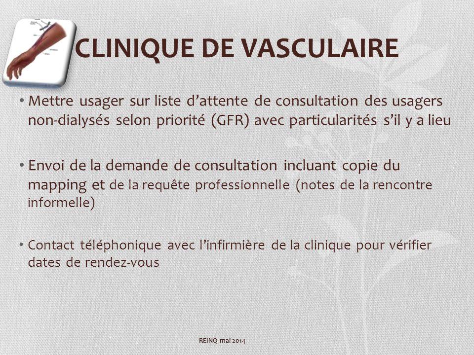 CLINIQUE DE VASCULAIRE