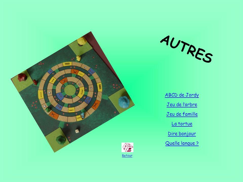 AUTRES ABCD de Jordy Jeu de l'arbre Jeu de famille La tortue