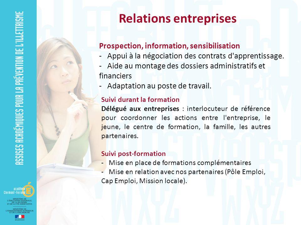 Relations entreprises