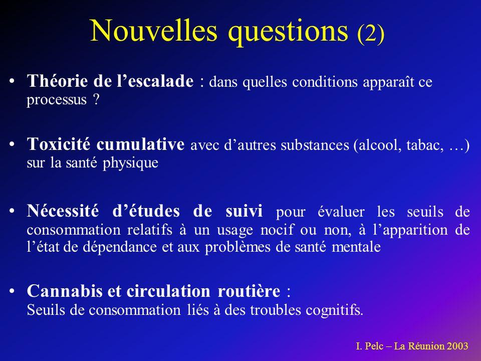 Nouvelles questions (2)