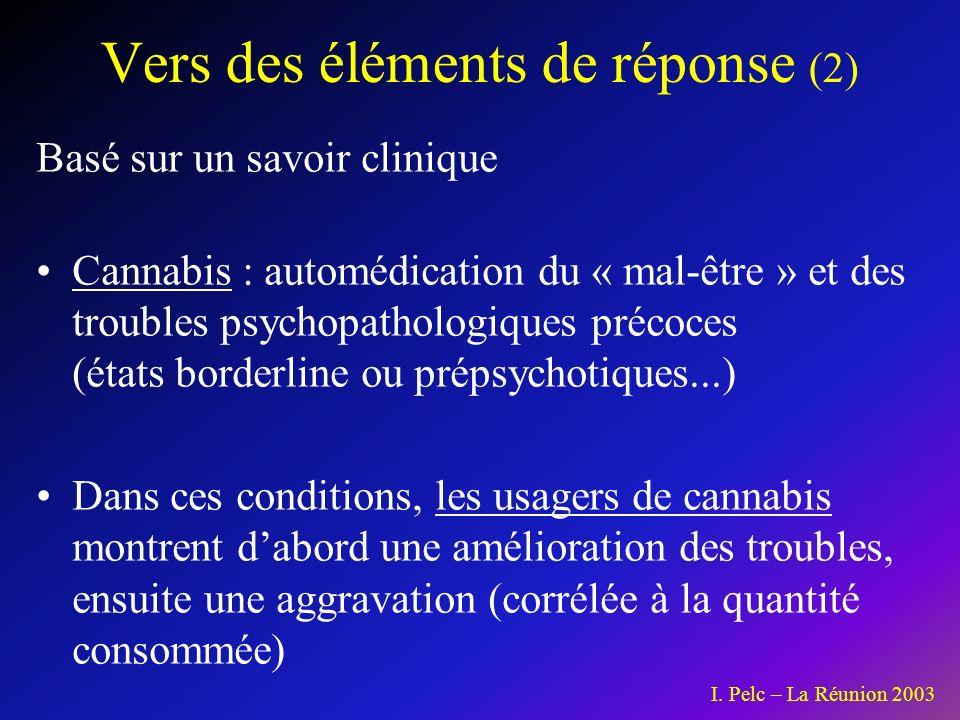 Vers des éléments de réponse (2)