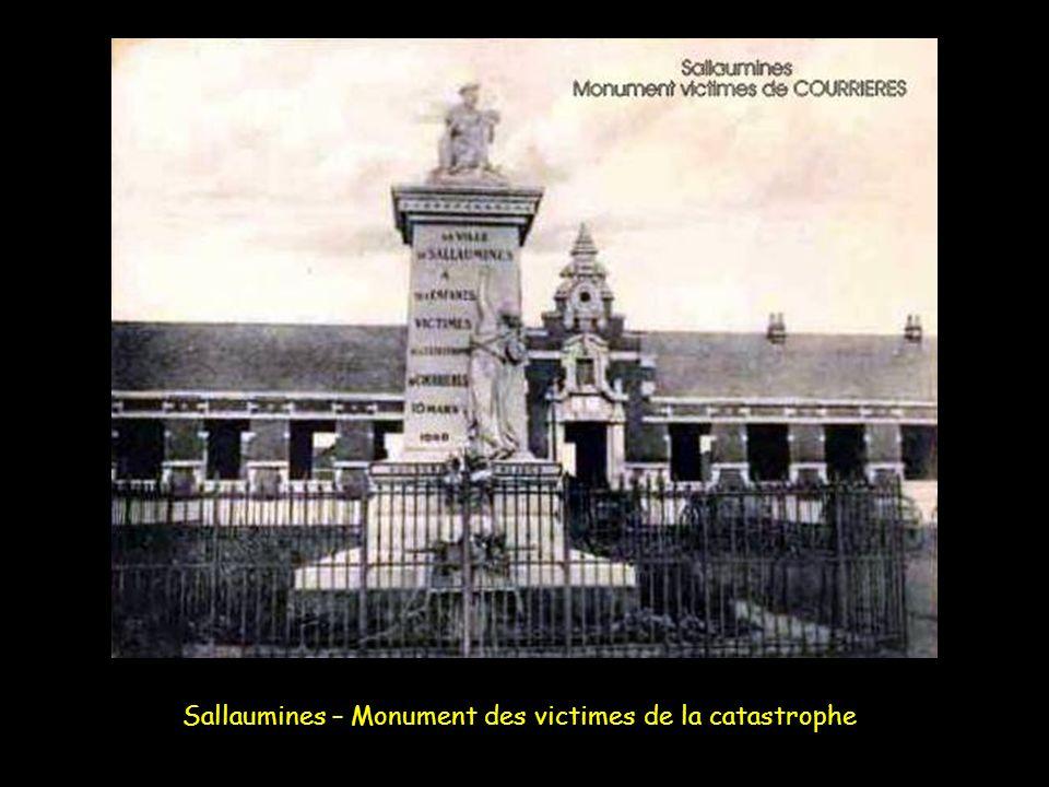 Sallaumines – Monument des victimes de la catastrophe
