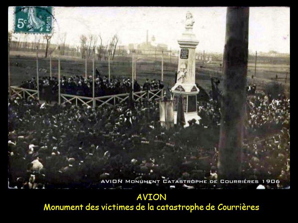 AVION Monument des victimes de la catastrophe de Courrières