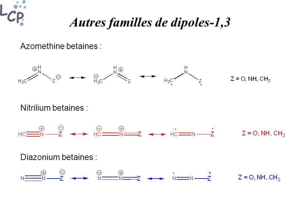 Autres familles de dipoles-1,3
