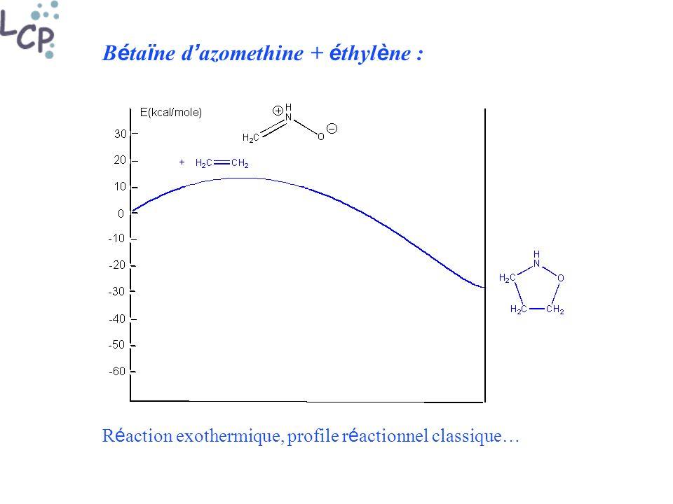 Bétaïne d'azomethine + éthylène :