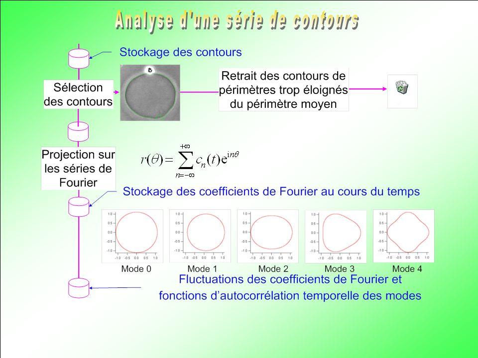 Analyse d une série de contours