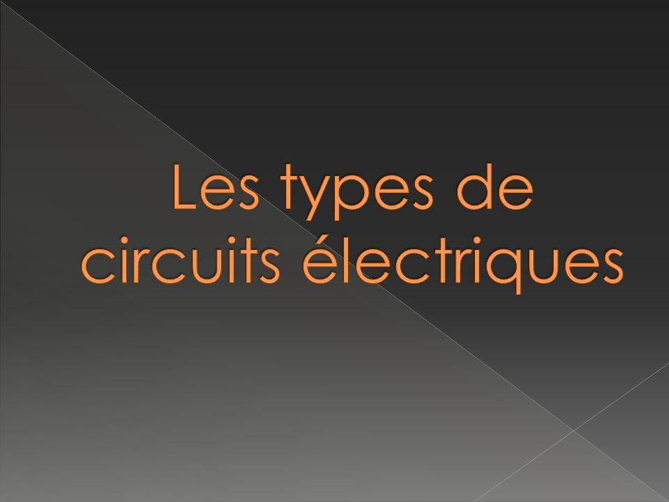 Les types de circuits électriques
