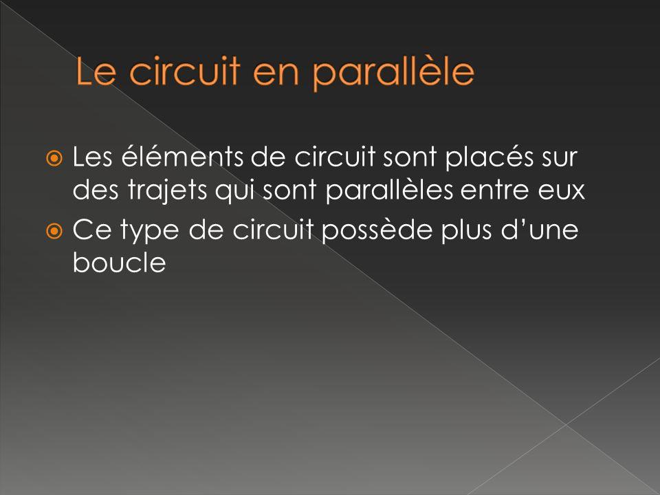 Le circuit en parallèle