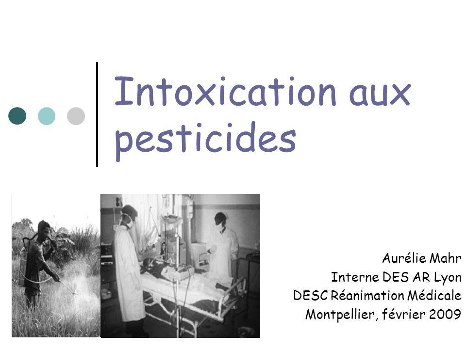 Intoxication aux pesticides