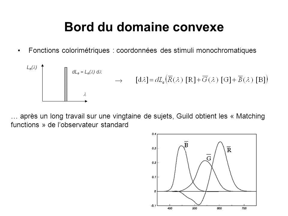 Bord du domaine convexe